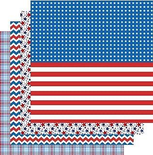 Patriotic Heat Transfer Vinyl, American HTV, 4th of July, 4-12