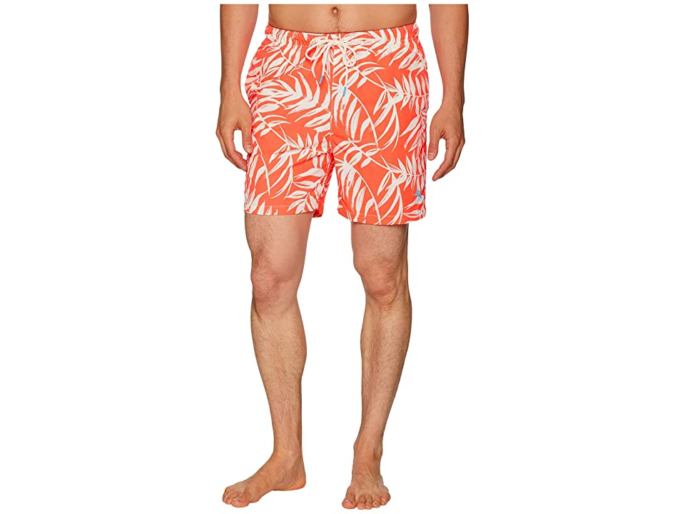 Tommy Bahama Naples Muy Caliente Swim Trunk (Electric Coral) Men