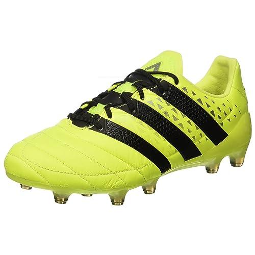 new concept 6835d 36dc2 adidas Herren Ace 16.1 Fg Leather Fußballschuhe, Schwarz