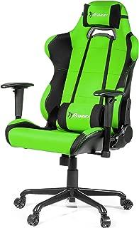 Arozzi Torretta XL Series Gaming Racing Style Swivel Chair, Green