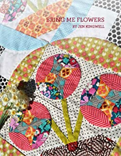 Bring Me Flowers Quilt Pattern by Jen Kingwell Designs
