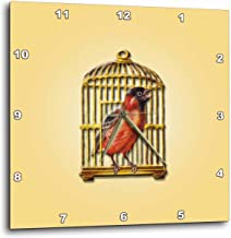victorian singing bird in cage