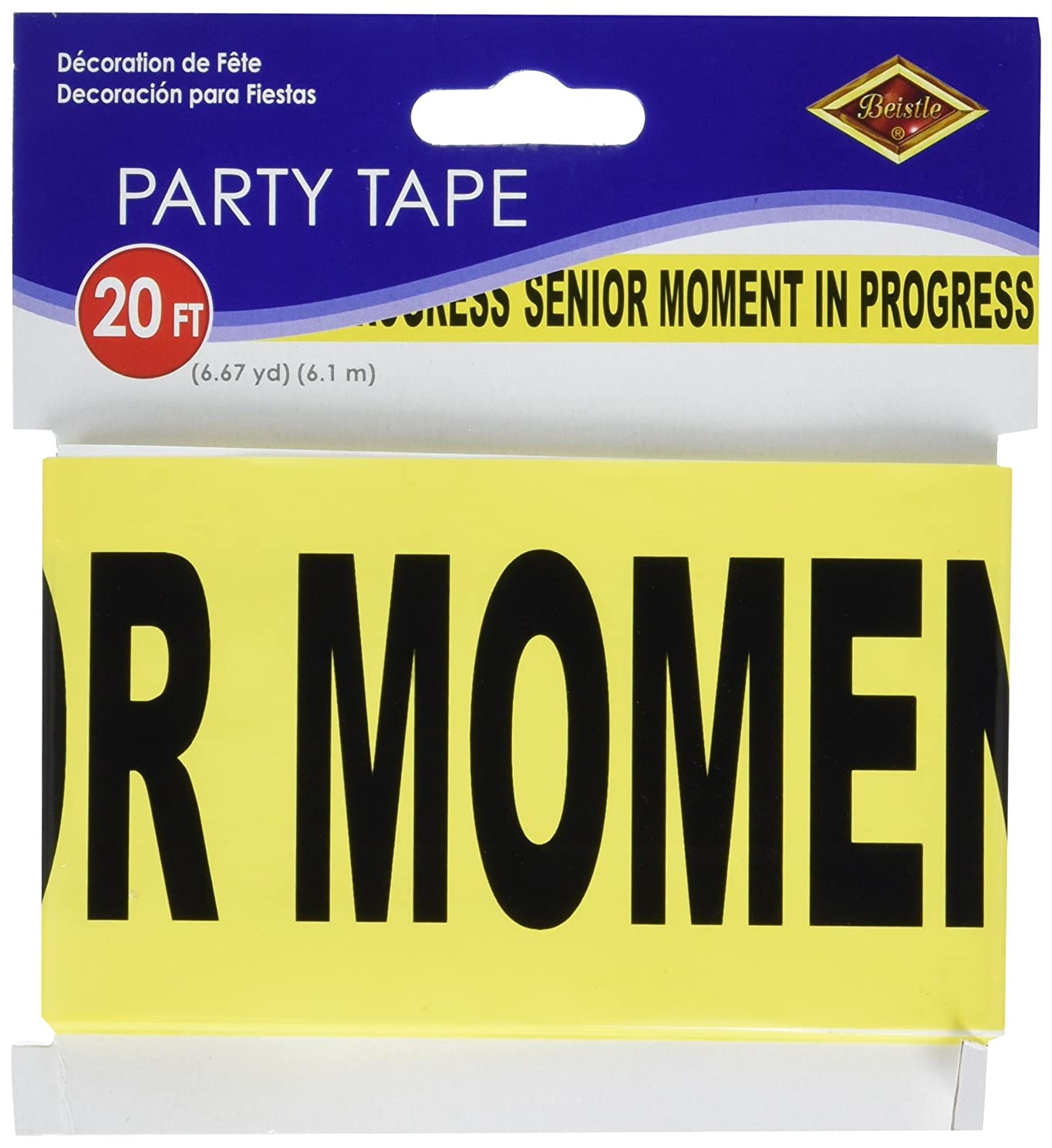 Senior Moment In Progress Party Tape 3