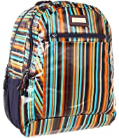 Hadaki - Arabesque Stripes - Printed Coated Cool Backpack