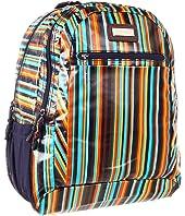 Hadaki - Arabesque Stripes - Printed Coated Cool Backpack