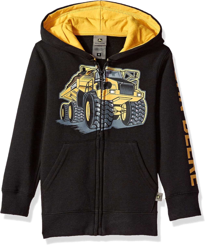 John Deere baby-boysJFJ056GTAFleece Pullover Hoody Hooded Sweatshirt