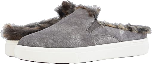 Taupe Rory Suede/Match Elastic/Camel Leo Fur S&L