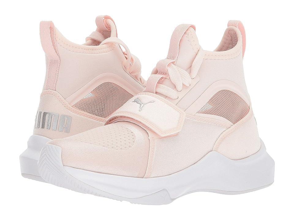 Puma Kids Phenom (Little Kid) (Pearl/PUMA Silver) Kids Shoes