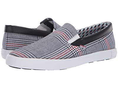 Ben Sherman Pete Slip-On (Navy Plaid) Men