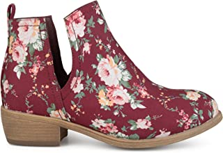 Best red floral boots Reviews