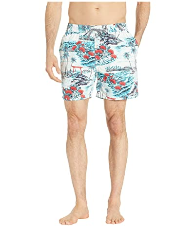 Reyn Spooner Banyon Drive Swim Trunks (Mosaic Blue) Men