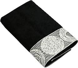 Avanti Linens Galaxy Hand Towel, Black