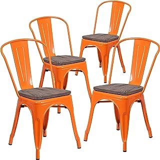 Best orange metal chairs Reviews