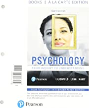 Psychology: From Inquiry to Understanding -- Print Offer [Loose-Leaf] (4th Edition)