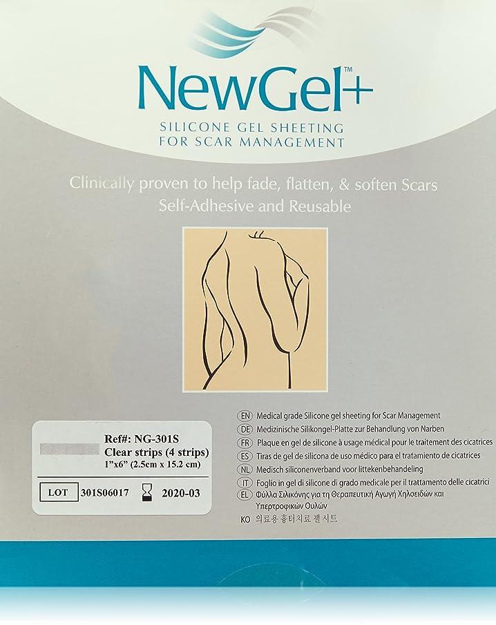 NewGel+ Silicone Gel Strips for Scar Managment - 1