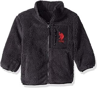 U.S. Polo Assn. Boys' Sherpa Fleece Reversible Jacket