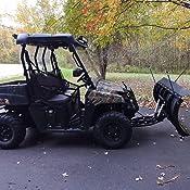 UTV Plow Mount for 2009 Polaris 700 Ranger 4x4 KFI 105255 M16