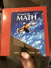 McDougal Littell Math Course 1: Teacher's Edition 2007
