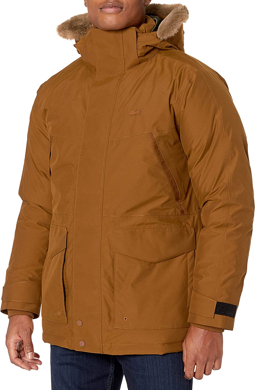 Lacoste Mens Long Sleeve Taffeta Down Filling Artic Down Jacket