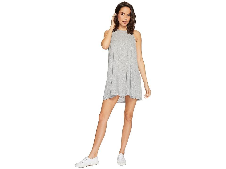 Free People LA Nite Mini Dress (Grey) Women
