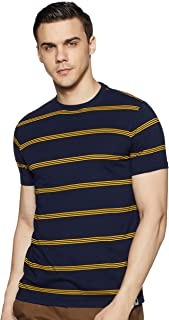 Amazon Brand - Symbol Men's Solid Regular Fit T-Shirt (SS19MNTEE07-2_Multicolor2 M)