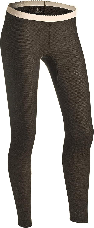 Indera Womens Raschel Knit Merino Wool Blend Thermal Underwear Pant