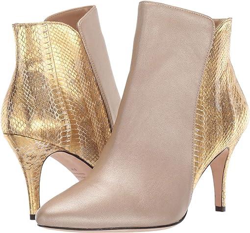 Platino Nappa/Beige/Gold