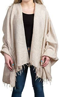 Wrappers Handmade Wool Shawl Wrap Pashmina Over sized Scarf 50