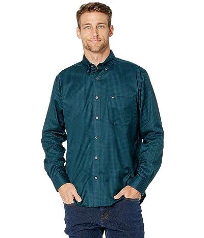 Tommy Hilfiger Mini Tartan Classic Fit Shirt (Sky Captain) Men