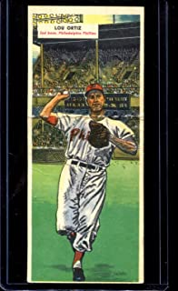 1955 Topps Double Header Baseball #091 91-92 Ortiz/Bolling STARX 5 EX (C (CS27363)