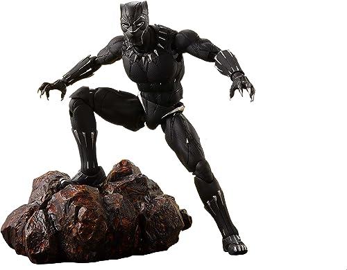 Avengers Infinity War S.H. Figuarts Action Figure schwarz Panther & Tamashii Effec