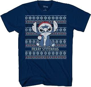 Disney Lilo and Stitch Stitchmas Ugly Sweater Christmas Adult T-Shirt