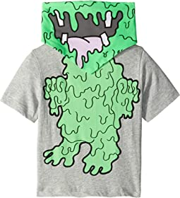 Arrow Slime Monster w/ Bandana Short Sleeve Tee (Toddler/Little Kids/Big Kids)