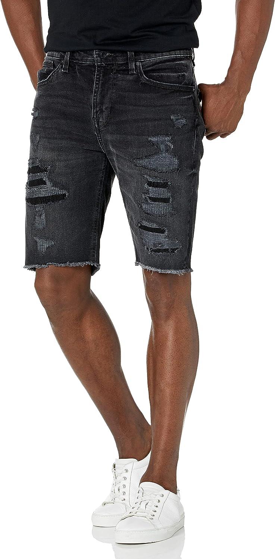 GUESS Men's Slim Fit Denim Shorts