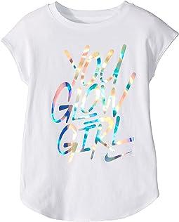 Nike Kids You Glow Girl Modern Short Sleeve Tee (Little Kids)