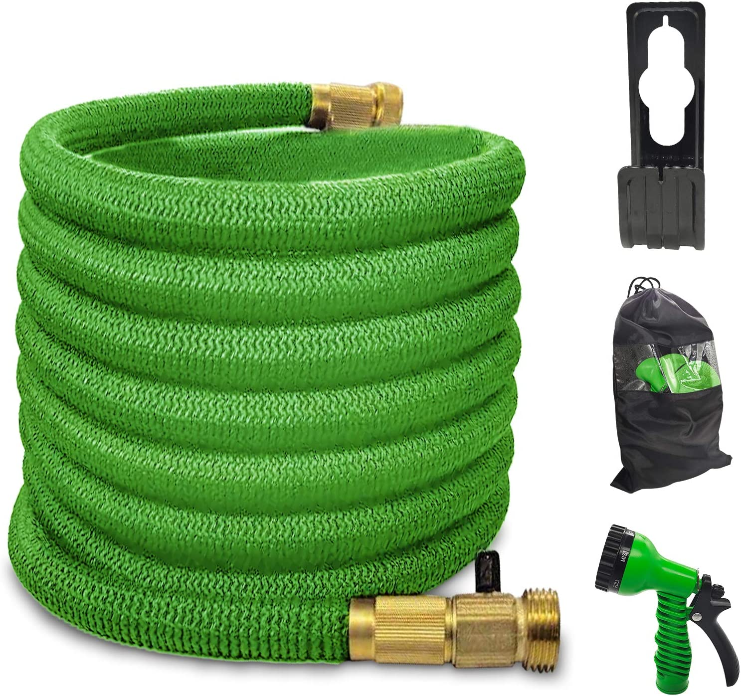 Yereen Expandable Garden Hose 50FT Flexible Collapsible Max 52% OFF Latex Under blast sales R