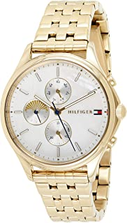 Tommy Hilfiger Womens Quartz Wrist Watch, Chronograph and Stainless Steel- 1782121
