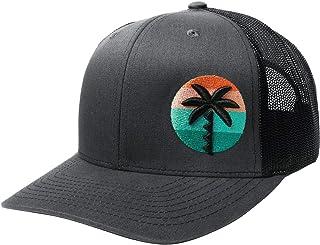 WUE Trucker Hat - Palm Tree Mens Hats - Snapback Hats