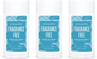 Schmidt's Aluminum Free Natural Deodorant for Women and Men, Fragrance Free for Sensitive Skin with 24 Hour Odor Protectio...