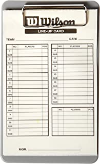 Wilson Lineup Cards Not Applicable