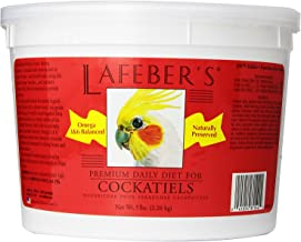 LAFEBER'S Premium Daily Diet Pellets Pet Bird Food, Made with Non-GMO and Human-Grade Ingredients, for Cockatiels
