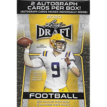 2019 Panini PRIZM Football Unopened Blaster Box of Packs with One Memorabilia Card and 3 Exclusive Lazer Parallels in Each Box Try for Kyler Murray and Nick Bosa Rookie Cards Plus