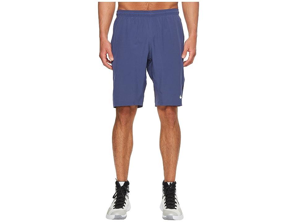 Nike N.E.T. 11 Woven Short (Blue Recall/White) Men