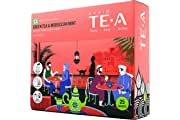 SPRIG TE.A Green Tea and Moroccan Mint | Fully Soluble Green Tea | Refresh with This Ancient Social Ritual | A Genuine Moroccan Experience | Pack of 25