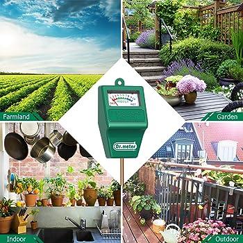 Dr.Meter S10 Soil Moisture Sensor Meter Hygrometer Moisture Sensor for Garden,
