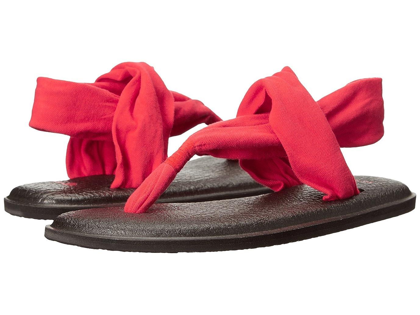 空虚一回バドミントン[Sanuk] レディース Yoga Sling 2 US サイズ: 6 B(M) US カラー: レッド