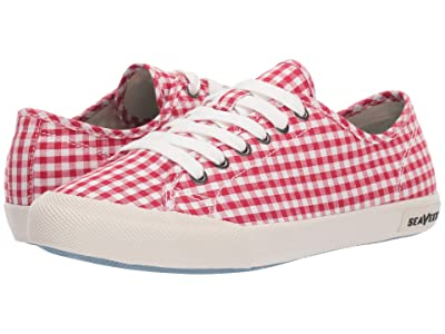 SeaVees Monterey Sneaker Americana (Red) Women