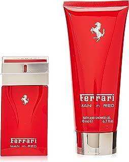 Ferrari Ferrari Man In Red By Ferrari for Men - 2 Pc Gift Set 1.7oz Edt Spray, 6.7oz Bath & Shower Gel, 2count