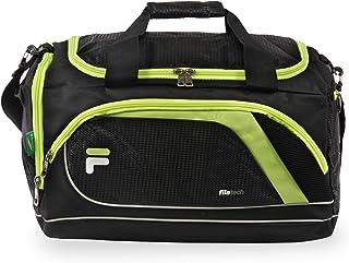 "Fila Advantage 19"" Sport Duffel Bag, Black/Lime, One Size"