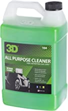 3D All Purpose Cleaner - 1 Gallon   Safe, Biodegradable Degreaser   Environmentally Friendly Car Care   Removes Spots, Dirt, Grime & Grease Stains   Made in USA   All Natural   No Harmful Chemicals